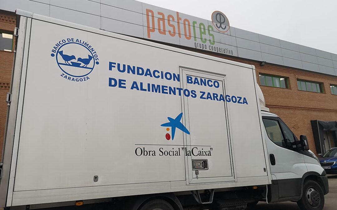 La solidaridad del campo no cesa: Pastores Cooperativos dona 2.500 raciones de Ternasco de Aragón y un euro por cada AOVE solidario