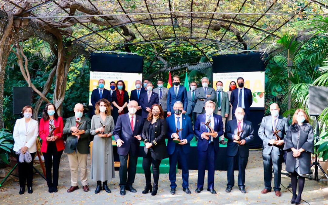 Los premios Andalucía de Medio Ambiente 2020 visibilizan la necesaria unidad de acción para luchar contra el cambio climático