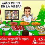 Asaja CyL invita a todos a estar «Más de diez en la mesa», pero no con invitados sino con productos autóctonos 1