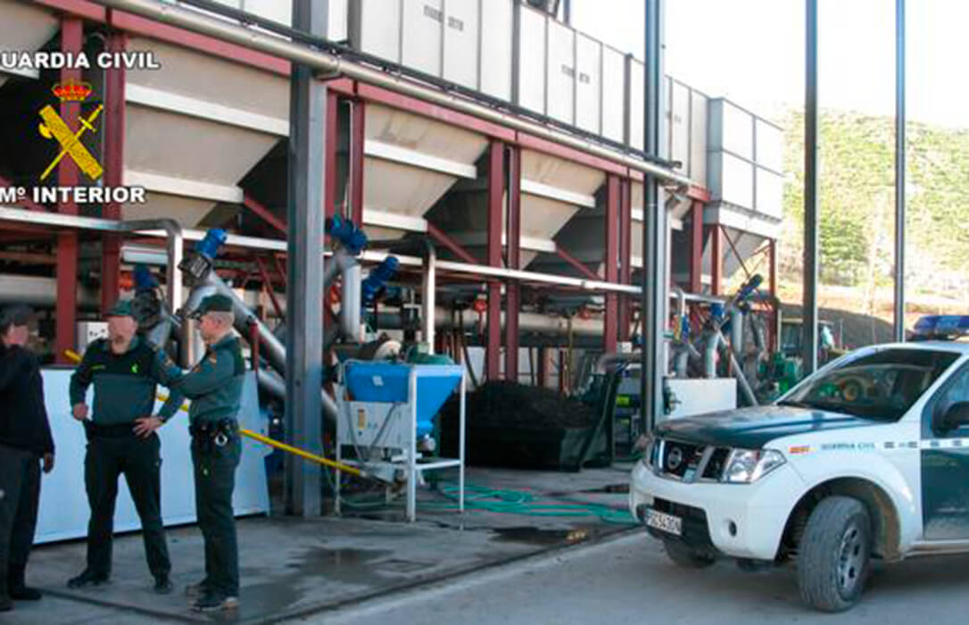 Miedo por el riesgo de robos en cooperativas de aceite: En el último caso siete encapuchados intentaron entrar en una cooperativa