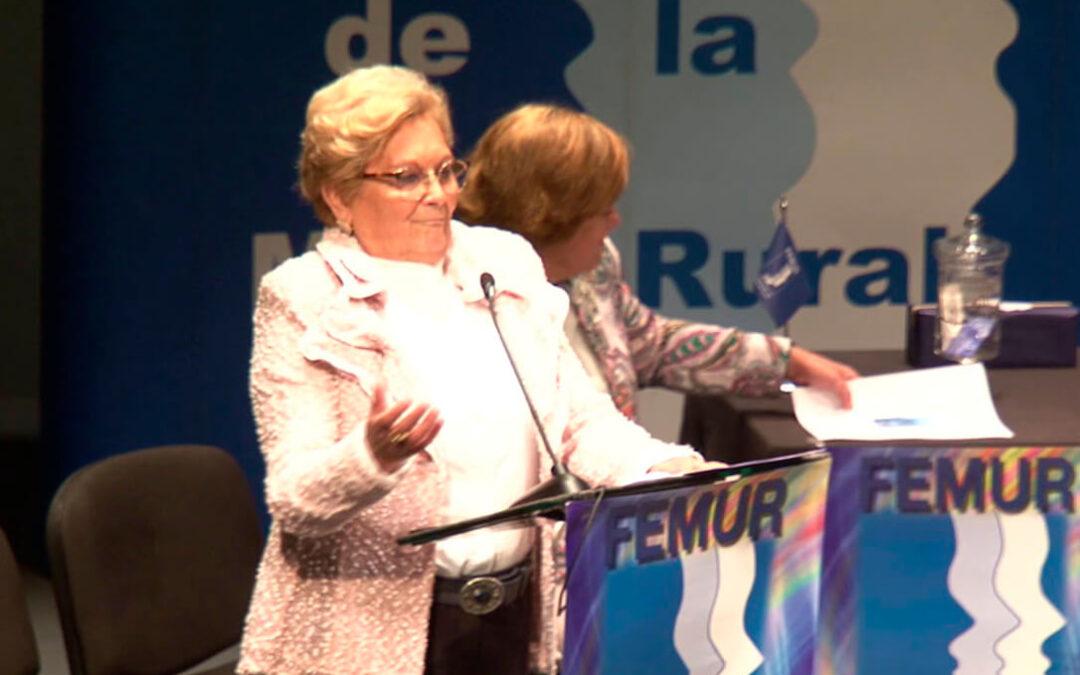 ENTREVISTA. Juana Borrego (Femur): «2021 se presenta como el año de la digitalización de la mujer rural y la innovación de FEMUR será clave»