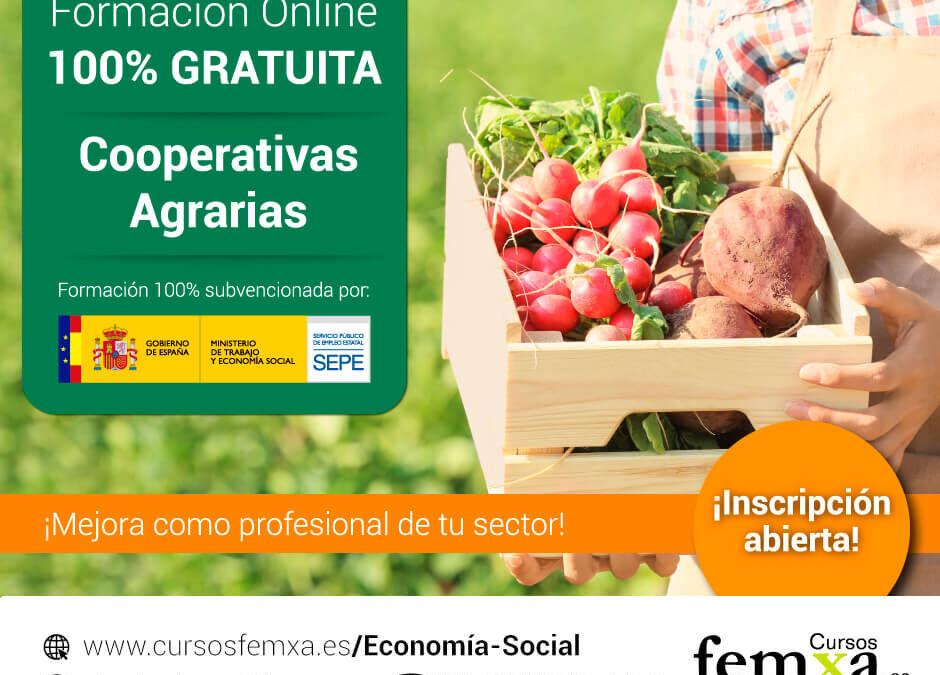 Apuesta por la formación: Más de 1.000 plazas en cursos totalmente gratuitos del SEPE dirigidos a cooperativas agrarias