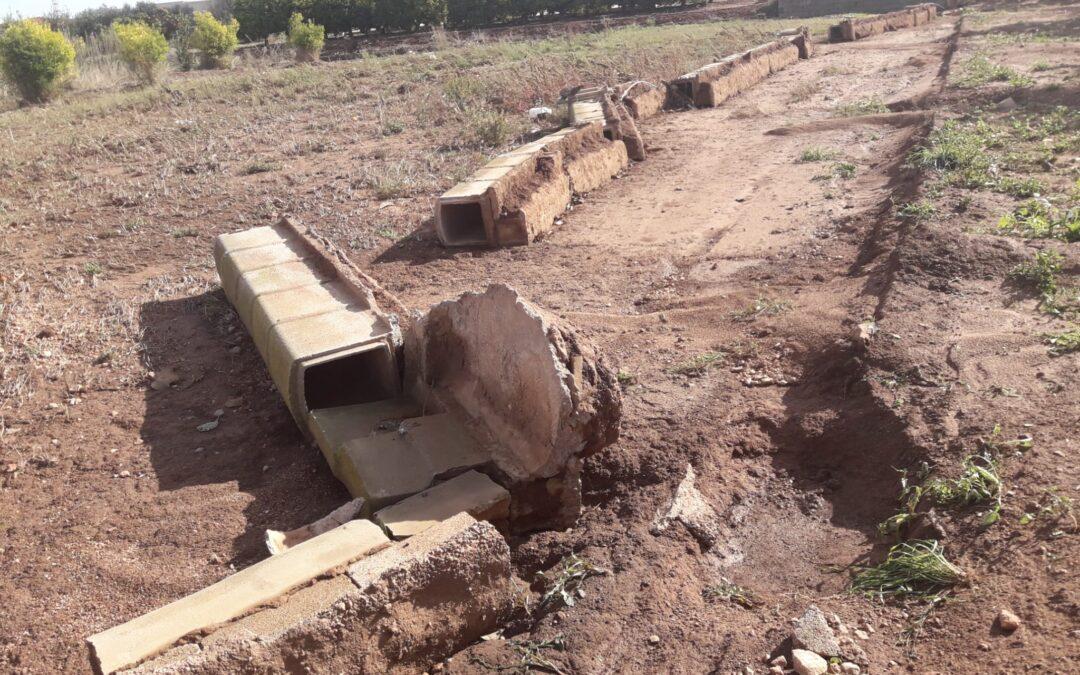 Tres meses y medio después de la gota fría denuncian que no han llegado ni ayudas ni arreglo de infraestructuras dañadas