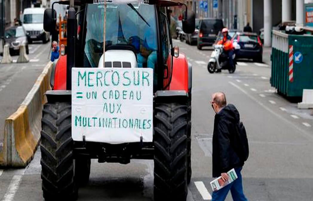 Tres grandes organizaciones de productores europeos lanzan una nueva campaña para explicar el rechazo al pacto con Mercosur
