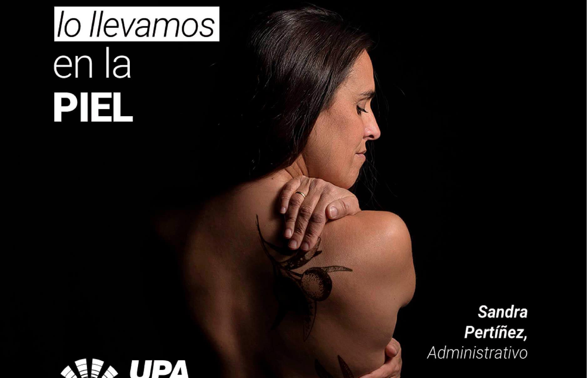 Veto a una campaña de UPA: «El aceite de oliva lo llevamos en la piel» aunque algunos lo que tienen en la piel es desmasiada sensibilidad