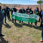Día Mundial del Agua: Protesta para denunciar que no ha habido ni una sola medida para apoyar el riego del campo 1