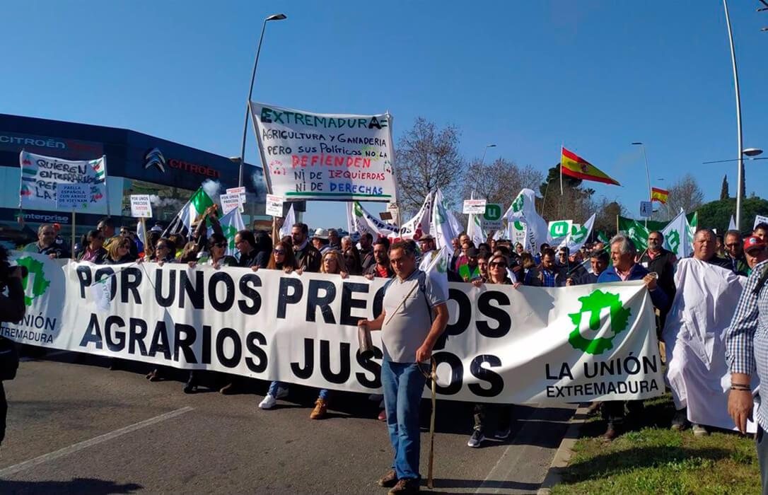 Convocada la primera protesta oficial contras las pérdidas que va a provocar la aplicación del plan de convergencia de la PAC