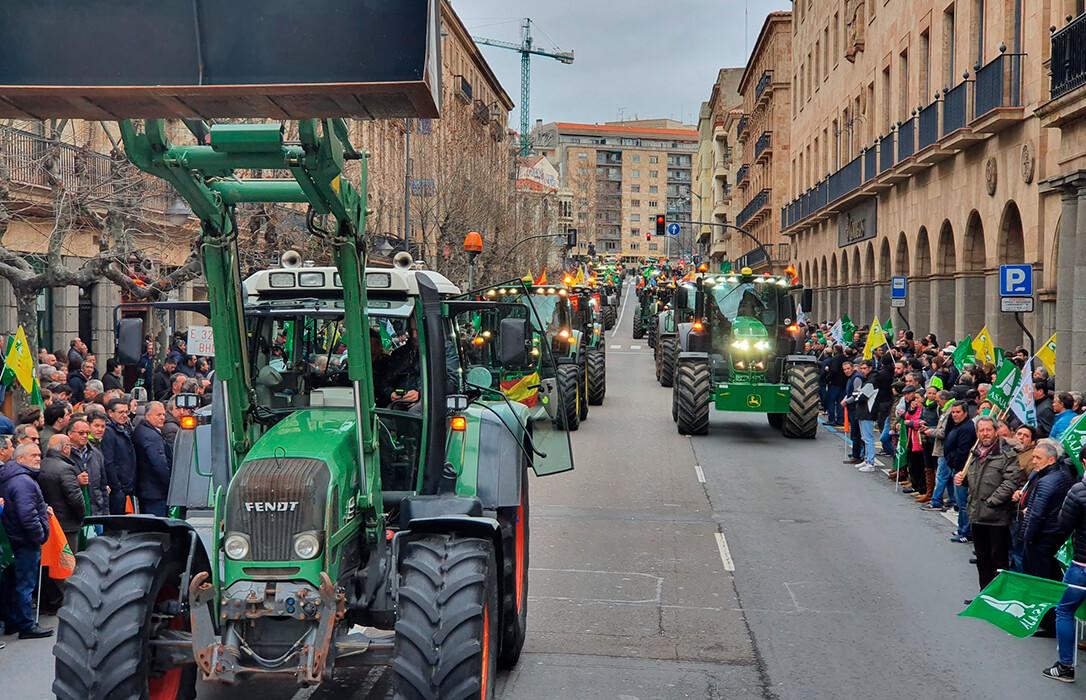 Según baja la incidencia de la pandemia se incrementan el anuncio de protestas: El campo salmantino tambien saldrá a la calle