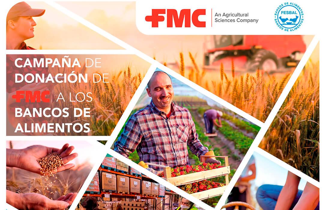 Campaña solidaria de FMC en apoyo a los Bancos de Alimentos: Si ayudamos a tus cultivos, ¿Por qué no a los demás?