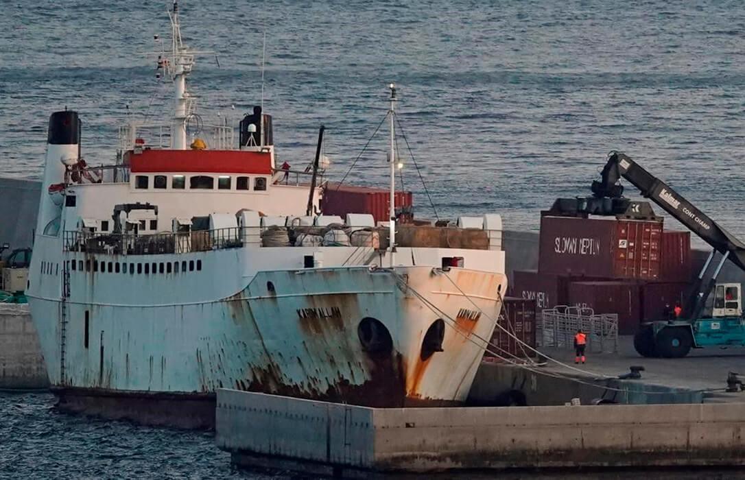 ¿Quién paga la crisis del buque Karim Allah?: El sector ganadero acumula 3 millones en daños y hay 20.000 cabezas de ganado paralizadas