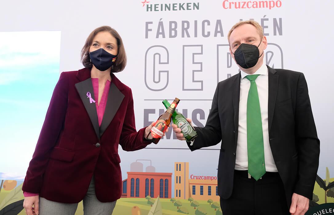 Inaugurada la primera fábrica de cerveza de España con emisiones cero y la más grande de Europa