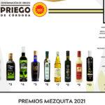 Lluvia de galardones para los AOVE's de la DOP Priego de Córdoba, en los premios Mezquita 2021 con diez aceites reconocidos 1