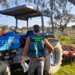 Lo vas dejando… y la Guardia Civil se ve obligada a devolver a su dueño un tractor prestado hacía un año 1