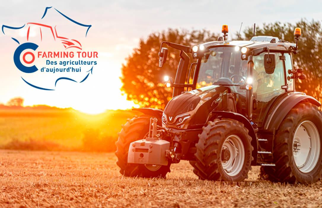 Un nuevo Tour de Francia subido en un tractor Valtra para concienciar a la sociedad sobre el papel de la agricultura