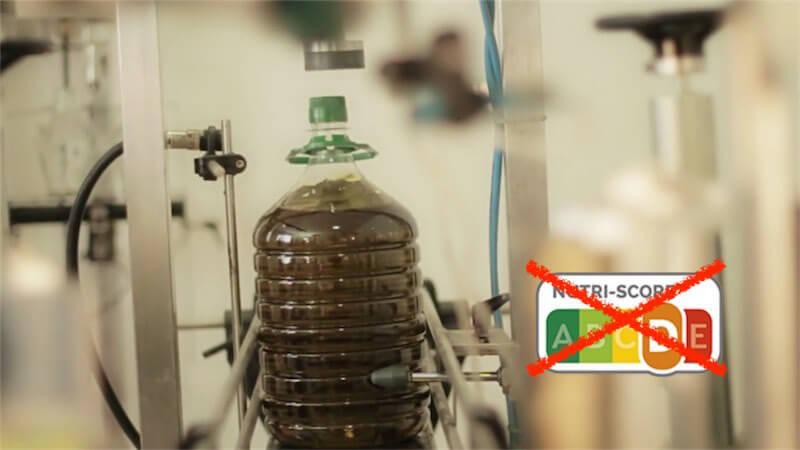 Apoyo del Parlamento Europeo para que el aceite de oliva quede al margen de la etiqueta Nutriscore