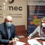 Acuerdo para que la Fundació Pimec incluya sus oficinas en la red de espacios seguros contra la violencia de género 1