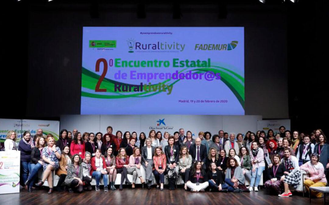 Tercer encuentro estatal de emprendimiento rural para la formación y para canalizar las demandas y denuncias del colectivo