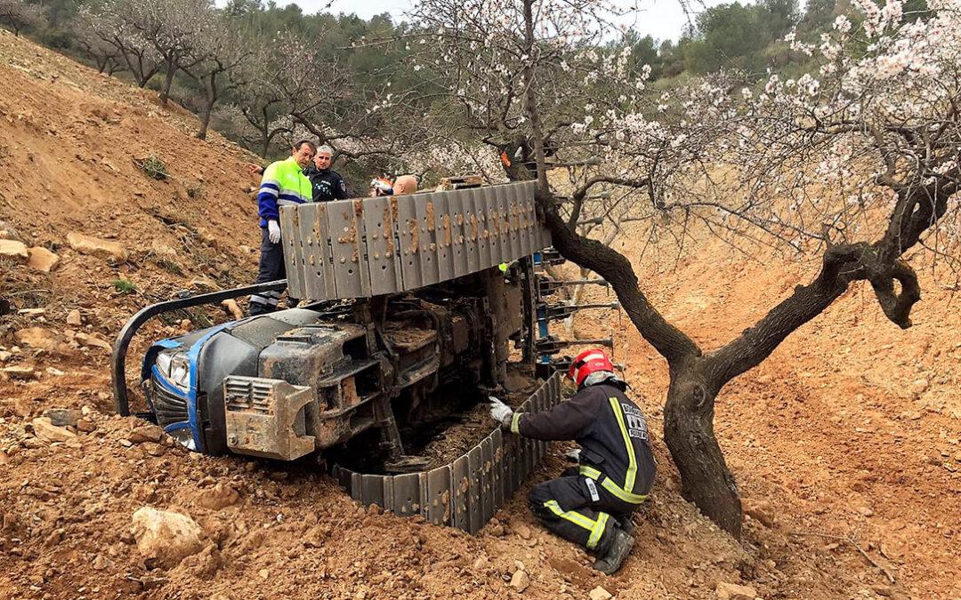 Otro fin de semana trágico en el campo con tres fallecidos en tres días por accidentes relacionados con tractores