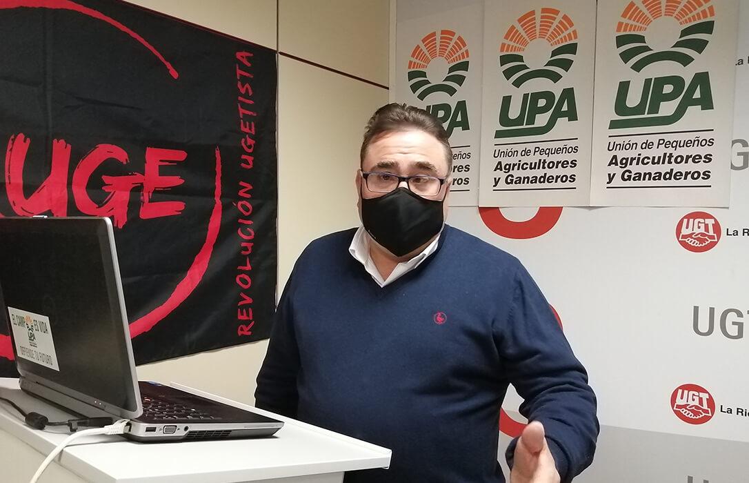 Siguen las renovaciones en UPA, José Domingo Ceniceros Lacalle ha sido elegido nuevo secretario general en La Rioja