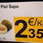 Carrefour vende melones de Brasil como si fueran españoles en pleno arranque de la campaña nacional 1