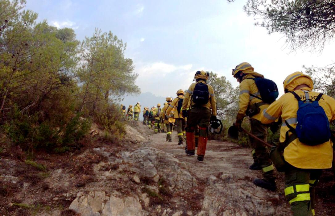 Andalucía lidera un nuevo proyecto transfronterizo con Portugal para fortalecer lAprevención y extinción de incendios forestales