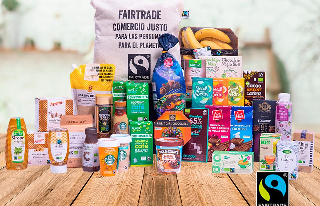 El número de productos certificados con sello de Comercio Justo Fairtrade crece un 8% en España el último año pese a la pandemia