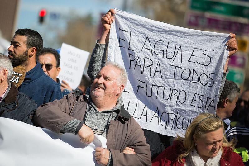 El Círculo por el Agua hará protestas provinciales antes de acudir a Madrid con una gran manifestación contra el recorte del trasvase