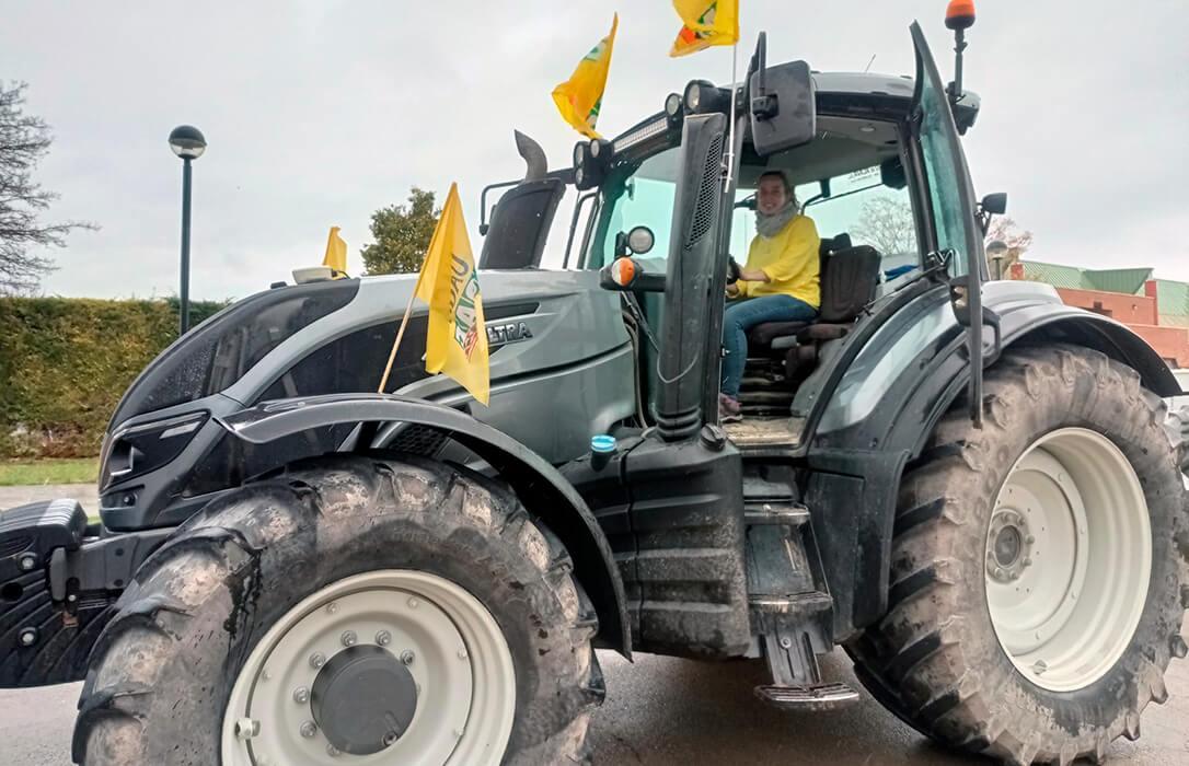 Los tractores toman Teruel en una gran protesta para exigir una PAC más justa con ayudas que vayan al medio rural