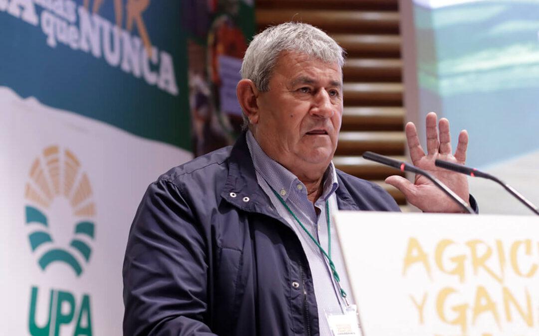 Ramos «luchará» en su último mandato en UPA para que se cumpla la Ley de Cadena y reconoce que hay ilusión ante la nueva PAC
