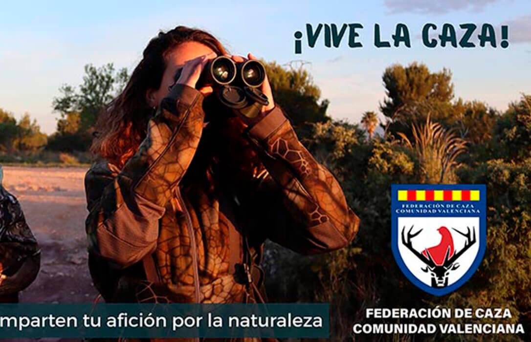 ¡Vive la caza!, la nueva campaña de la FCCV para poner en valor esta actividad y promover la caza entre los más jóvenes