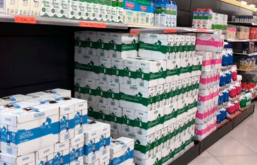 «Basta de mentiras»: La Organización de Productores Lácteos Agaprol, tajante con Mercadona a la acusan de pagar por debajo de costes