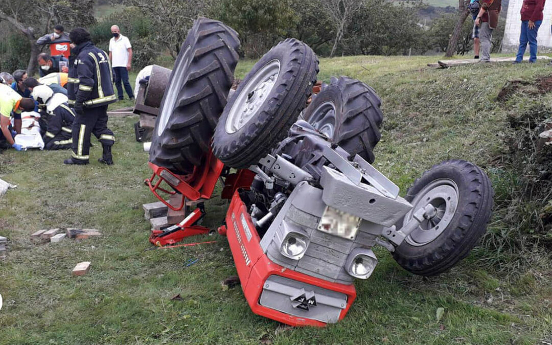 Tres agricultores de 71, 75 y 79 años fallecen en el primer fin de semana de mayo en tres accidentes con un tractor involucrado