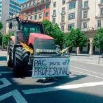 Casi medio millar de vehículos toman Zaragoza para exigir a Planas valentía a la hora de aplicar la PAC