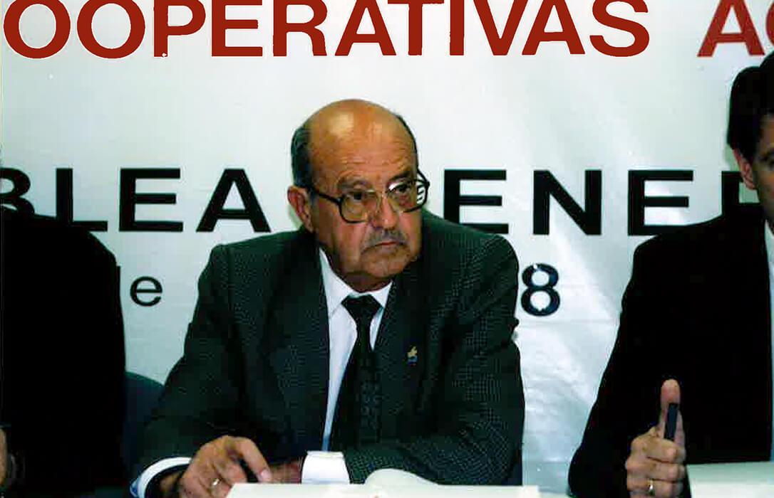 Cooperativas Agro-alimentarias de Andalucía despide a su primer presidente, Sebastián Delgado Castelanotti
