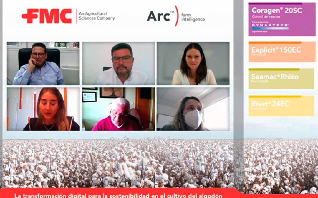 """Lanzamiento de la nueva App de FMC """"Arc™ farm intelligence"""": Trabajando en la sostenibilidad en el cultivo de algodón"""