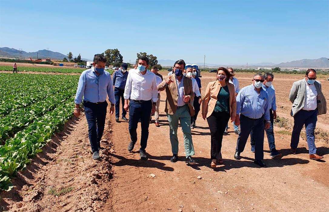 Andalucía y Murcia ratifican su alianza a favor del trasvase, la defensa del agua para regadío e inversiones productivas con fondos europeos