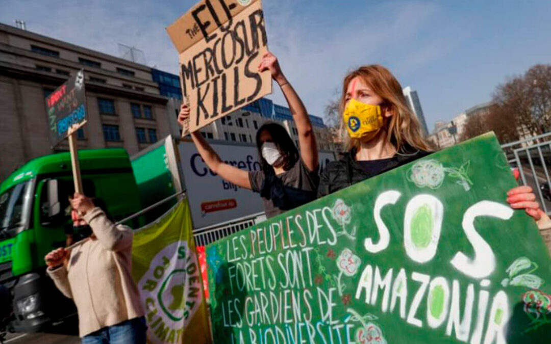 Francia reafirma que no firmará el acuerdo UE-Mercosur si no se modifica mientras que España se compromete a impulsarlo