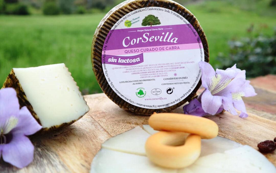 CorSevilla lanza un nuevo queso curado de cabra Florida sin lactosa elaborado de forma artesanal