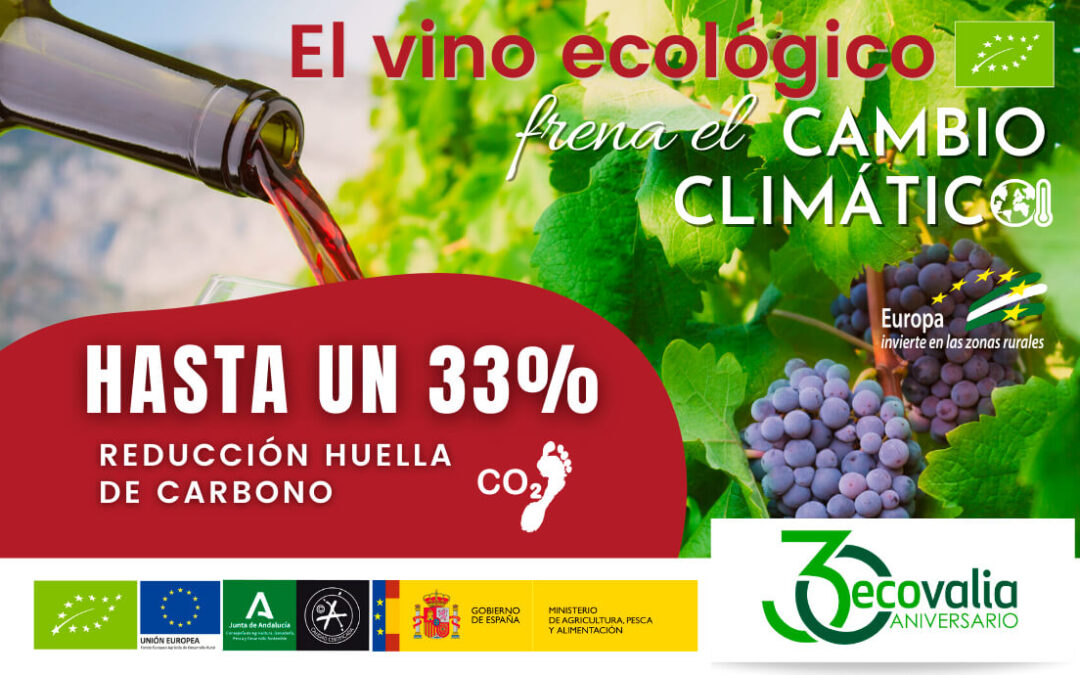 Campaña de promoción del sector del vino ecológico andaluz por la importancia de los viñedos en la lucha contra el cambio climático