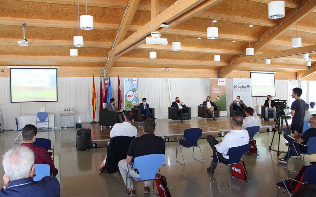 La Cátedra de FMC presenta el bioestimulante Seamac® Rhizo y reflexiona sobre los retos de la sostenibilidad y digitalización en la agricultura