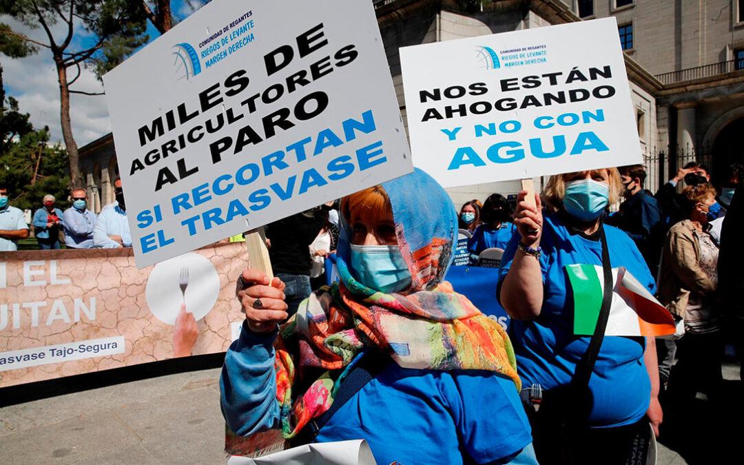 Antonio Luengo (Murcia): «En el problema del agua queremos que impere el sentido común y se deje la política en el trasvase»