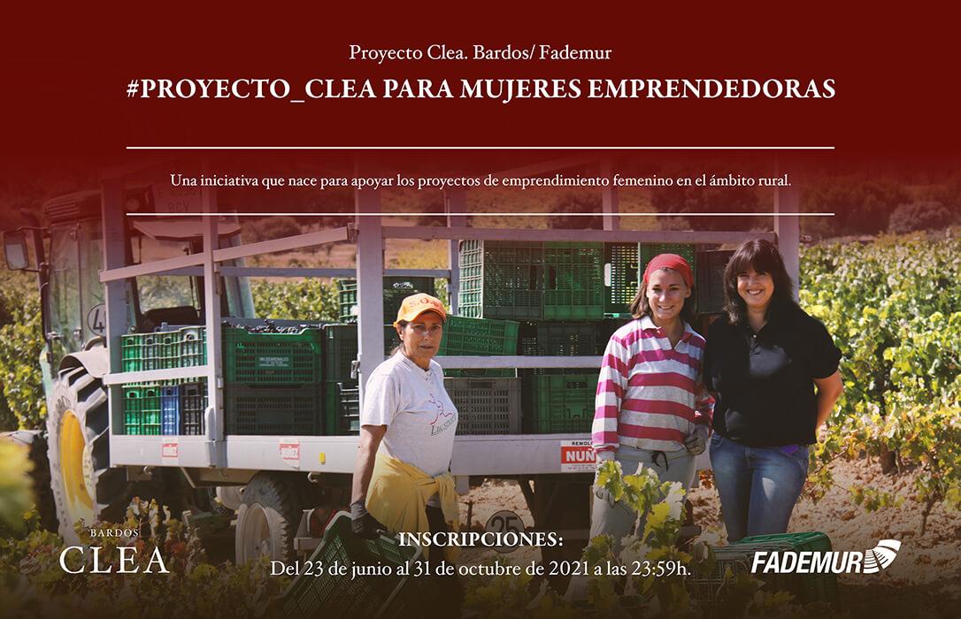 Fademur y Bodega Bardos lanzan el Proyecto Clea para impulsar el emprendimiento femenino en el medio rural