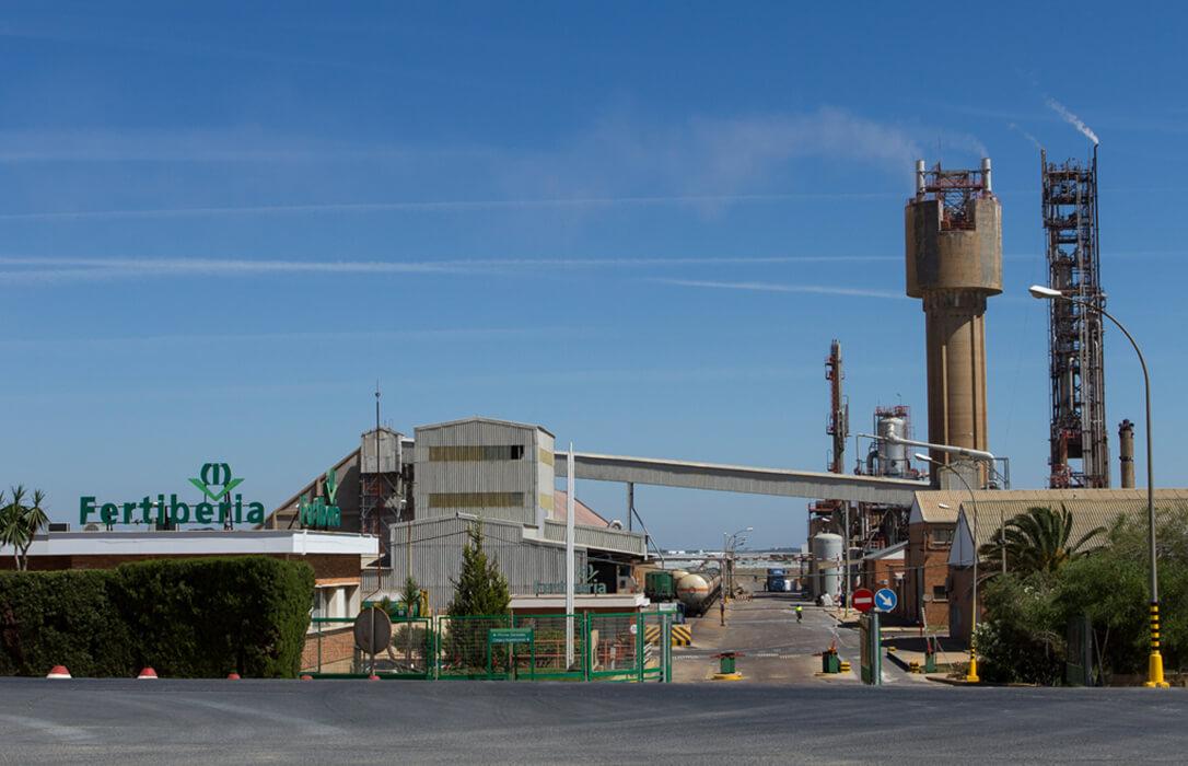 Grupo Fertiberia se alía con Casale y Schmidtsche Schack-ARVOS para impulsar la eficiencia energética de su planta de Palos de la Frontera