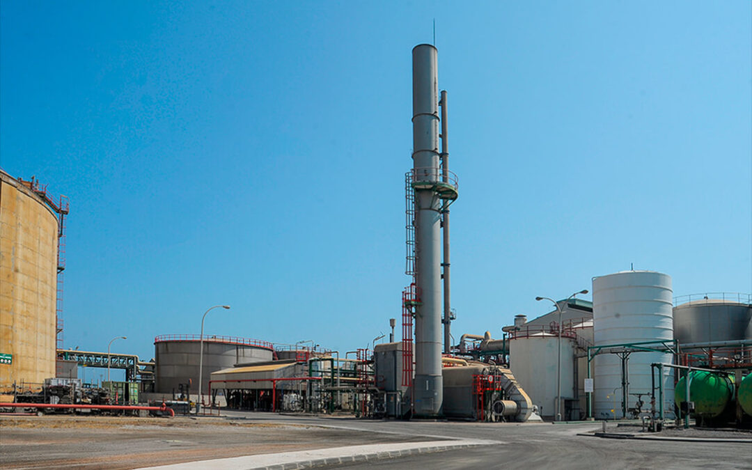 Grupo Fertiberia aprueba una inversión que convertirá su planta de Sagunto en una de las más eficientes de Europa