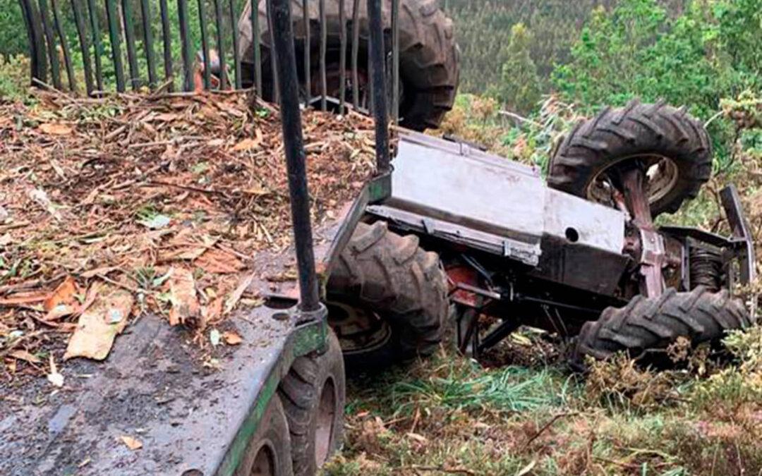 Otras dos muertes y un herido en solo dos días en el campo, uno de ellos un jubilado de 72 años de edad al volcar en un bancal