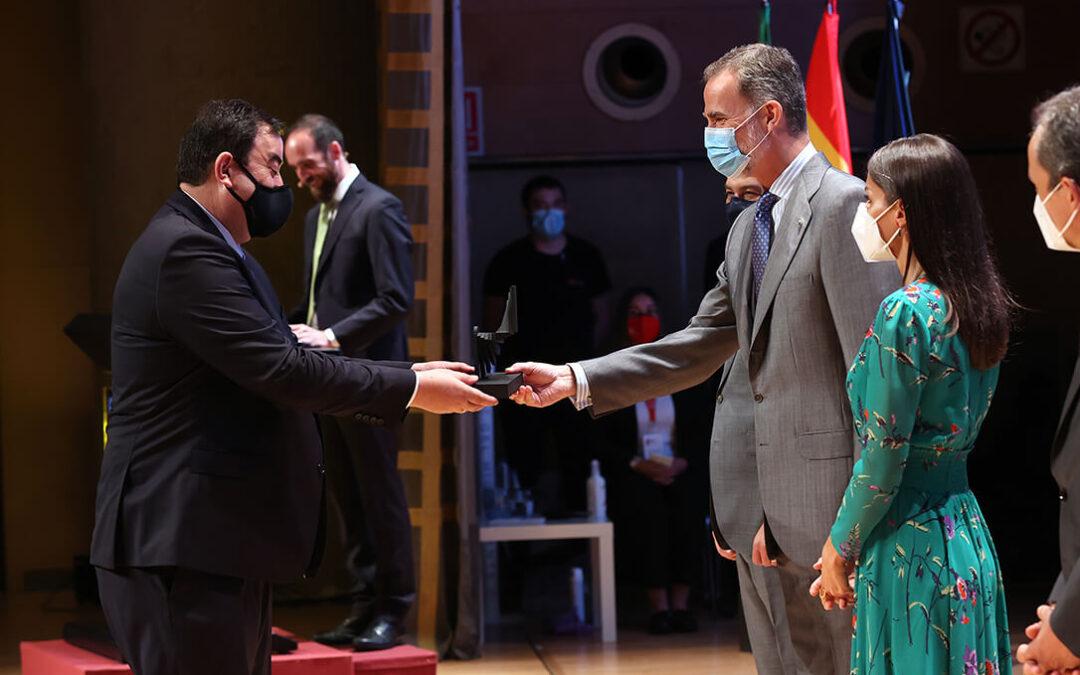 Seipasa recibe el Premio Nacional de Innovación 2020 de manos de los reyes Felipe y Letizia