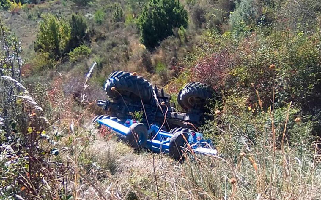 Tuvo un accidente con su tractor, fue rescatado y ahora le piden una condena por dar una tasa de alcohol cinco veces superior a la permitida