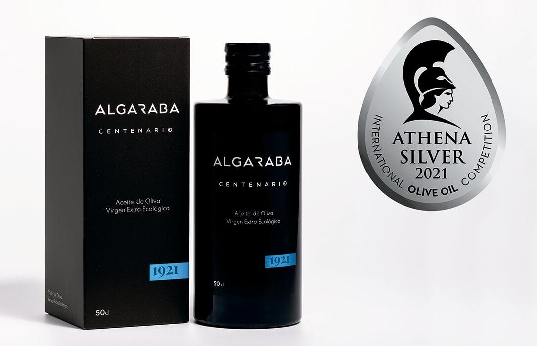 El AOVE ecológico Algaraba Centenario de Vidabol, Plata en el Concurso Internacional de Aceite de Oliva Athena