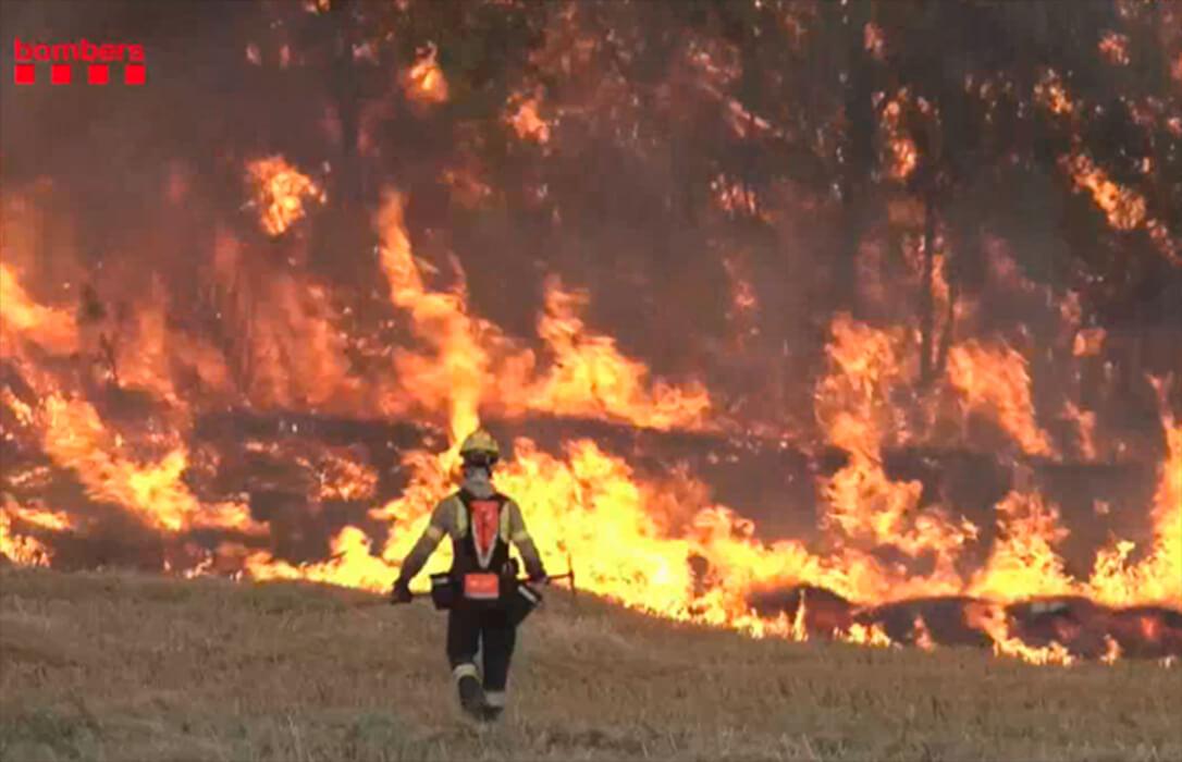 Alertan del aumento de incendios con respecto a 2020 y piden precaución, tanto al sector como a la sociedad en general