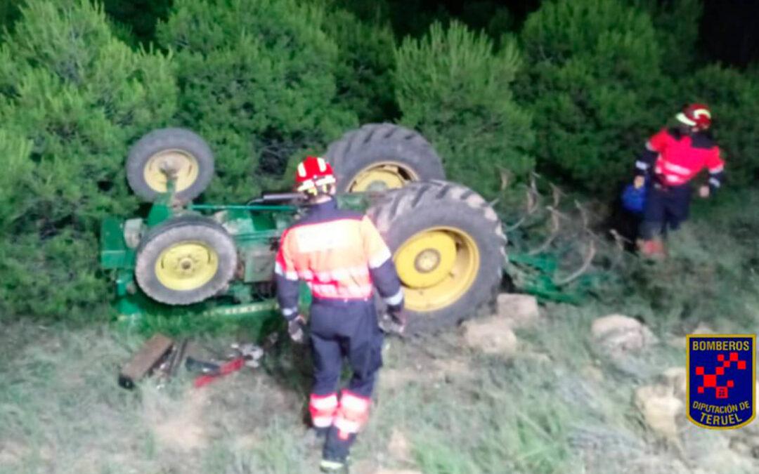 Goteo interminable: Fallecen cuatro agricultores desde el sábado, dos de ellos jubilados, en sendos accidentes con sus tractores